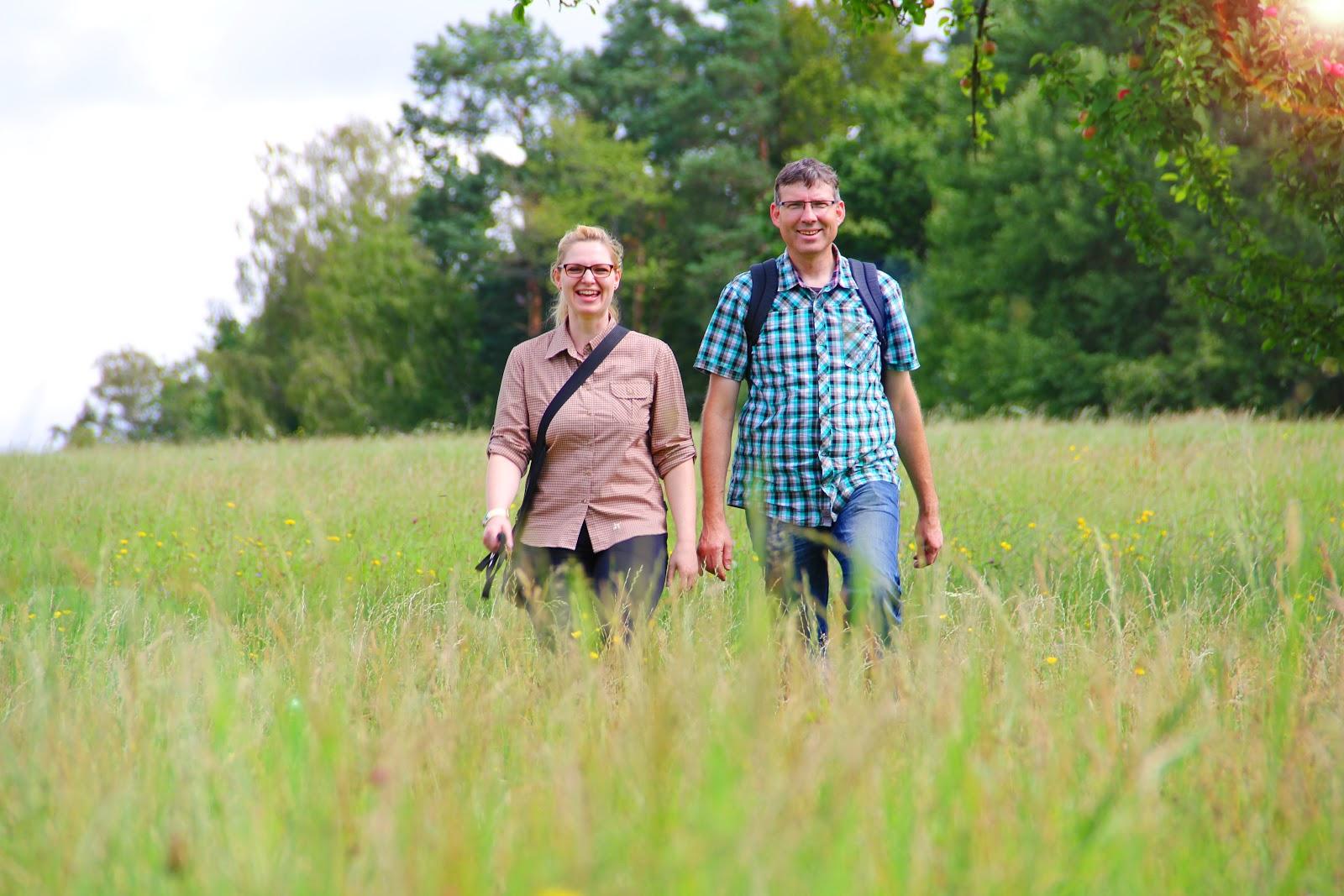 Durch die Wiesen des Nördlichen Schwarzwald kann man bestens wandern