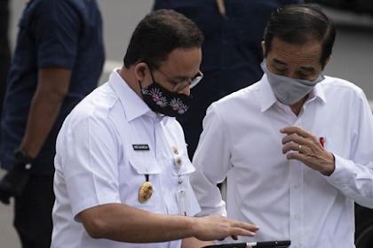 Jokowi dan Anies Rapat di Istana Bahas Lanjutan PPKM