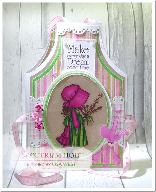 A Gift of Love Apron Card Note Holder (3)