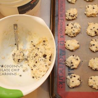 Creamy Coconut Chocolate Chip Macaroons Recipe