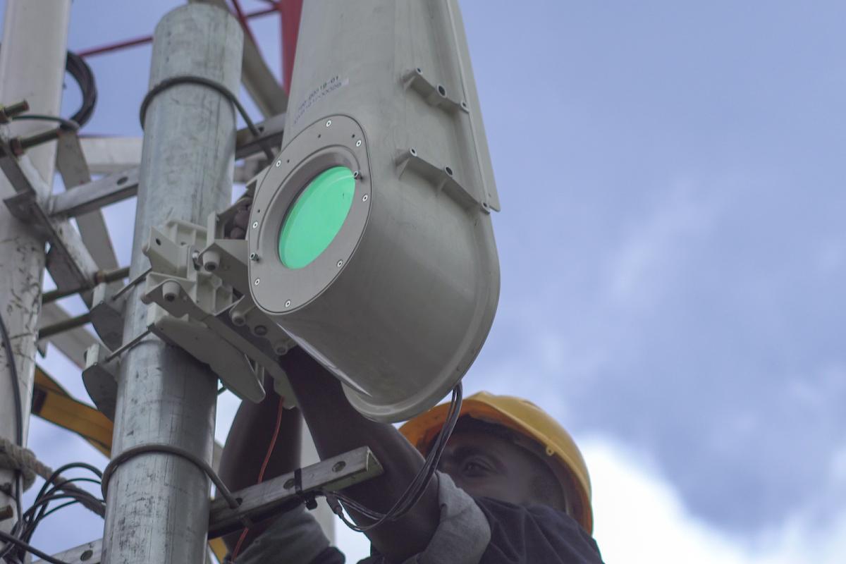 Bringing light-speed internet to Sub-Saharan Africa