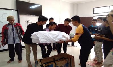 Mahasiswa PAI Melaksanakan Kegiatan Mata Kuliah Praktek Pelaksanaan Ibadah (PPI)