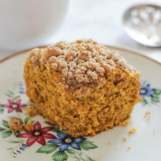 Pumpkin Crumb Coffee Cake Recipe