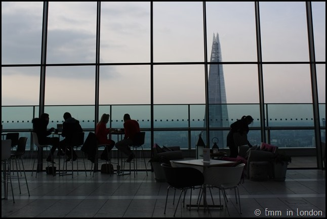 Silhouettes at  the Sky Garden