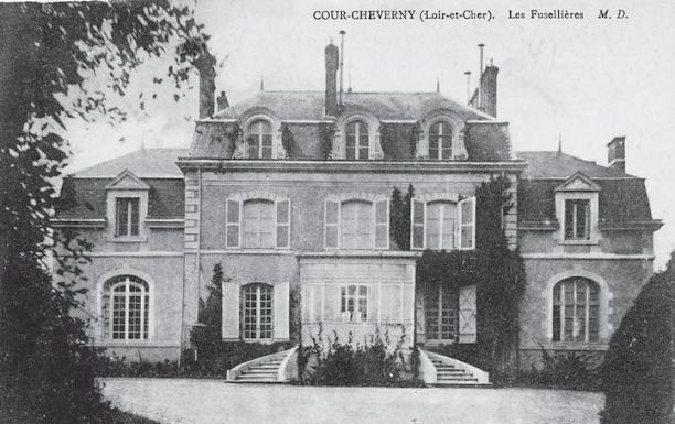 Château des Fuselières à Cour-Cheverny