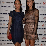 OIC - ENTSIMAGES.COM - Asli Bayram and Linzi Stoppard at the  Lan Nguyen-Grealis: Art & Makeup - book launch party in London 17th September 2015 Photo Mobis Photos/OIC 0203 174 1069