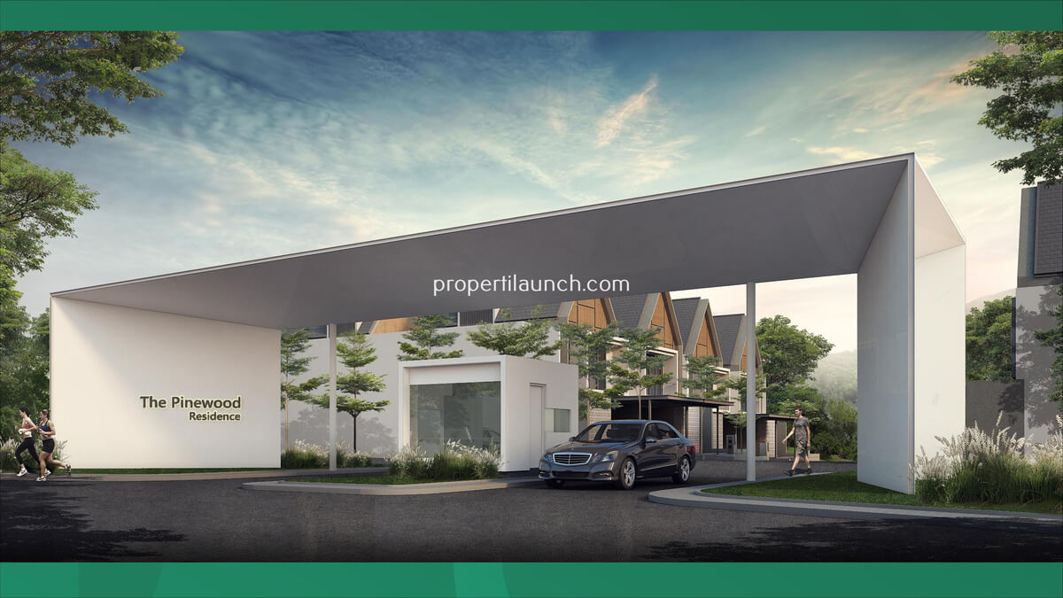 Gerbang Cluster Pinewood Residence Sumbog