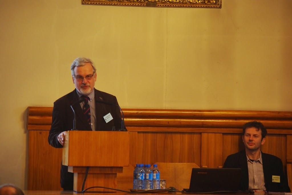 Konferencja Metody geofizyczne w archeologii polskiej (fot. J. Karmowski, K. Kiersnowski) - geof%2B%252813%2529.JPG