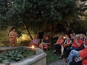 Chiara Fresca, serata africana, LILA