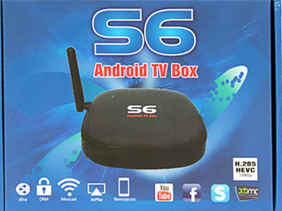 Smart box TV Kiwibox S6
