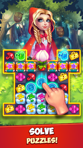 Fancy Blast: Puzzle in Fairy Tales 2.5.1 screenshots 1
