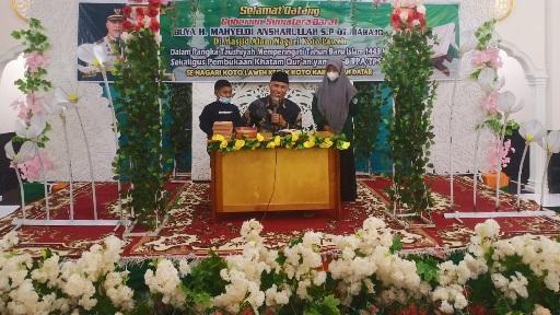 Gubernur Mahyeldi Ingatkan Kewajiban untuk Menyiapkan Generasi yang Kuat