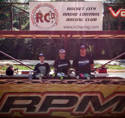 1/8 Nitro Buggy Pro 1st, TQ: Hunter Cupp 2nd: Steven Froghorn 3rd: Tyler Parrish
