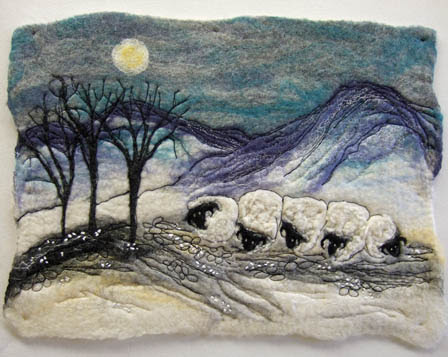 Night Sheep by Rosemary