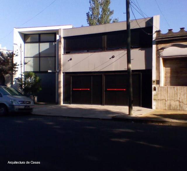 Residencia contemporánea urbana