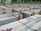 Granite slab packing