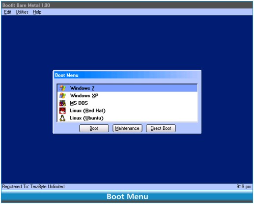 TeraByte Unlimited BootIt Bare Metal 1.54