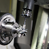 An aerospace part is machined on an Okuma 5-axis machine.