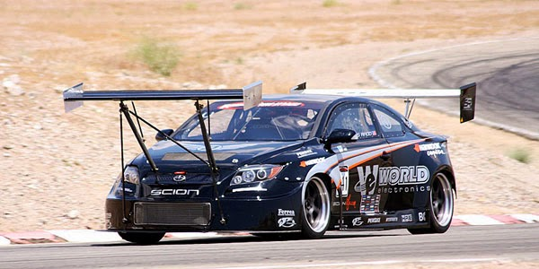 Scion tC Time Attack