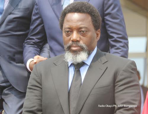 Joseph Kabila préside la cérémonie de la fin de la formation de 3600 policiers à Kisangani
