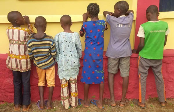 6 Children Rescued From Human trafficker in Ogun State (Photo)