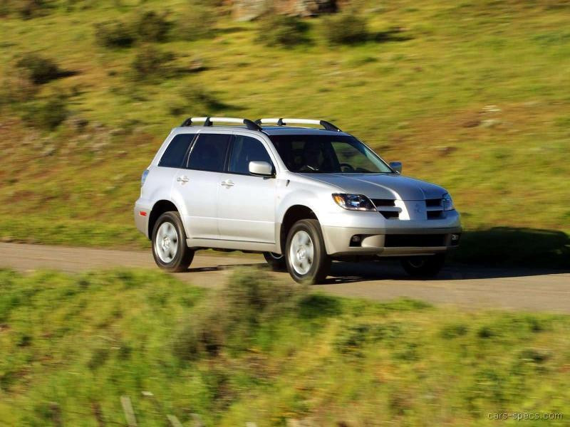 2003 Mitsubishi Outlander SUV Specifications, Pictures, Prices