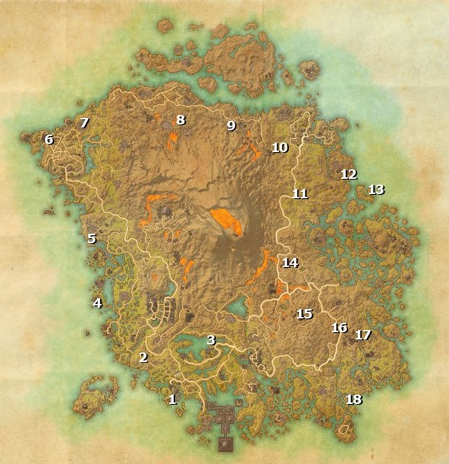 elder scrolls online morrowind skyshards locations guide 02 map bb