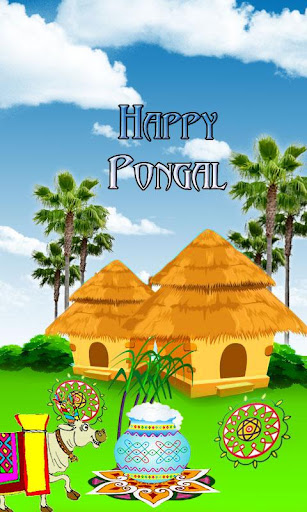 Happy Pongal Live Wallpaper