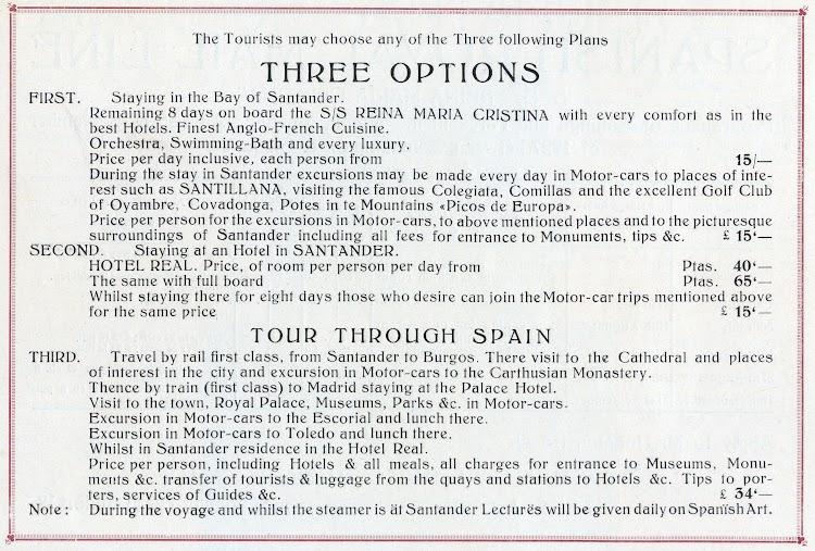 Anuncio del crucero en ingles. Del Libro de Información 1927. CTE.jpg
