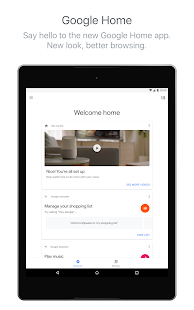 Google Home Capture d'écran