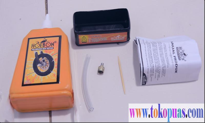 cara menambal ban tubless dan ban dalam dengan cairan