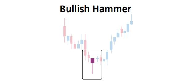 belajar trading forex dengan bullish hammer