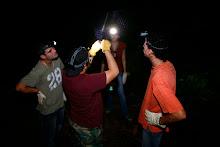 Actividad de Ciudadano Cientifico para muestrear murcielagos.