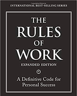 Book Review- The Rules of Work By Richard Templar
