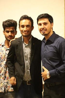 Abid with Mohammad Mustafa Ahmedzai