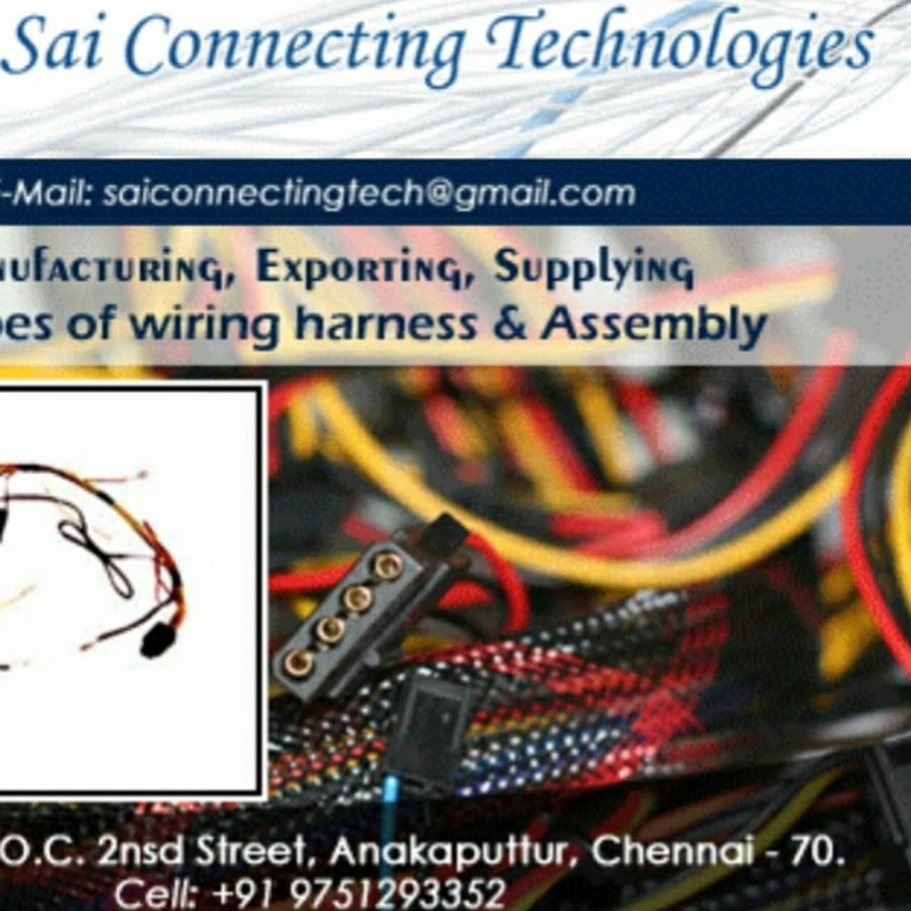 Sai Connecting Technologies Cable Harness Manufacturer In Chennai Wiring Manufacturers India Posted On Dec 9 2017