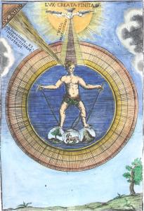 From G B Diana Paleologo Sacra Universal Filosofia Lucca 1713, Alchemical And Hermetic Emblems 1