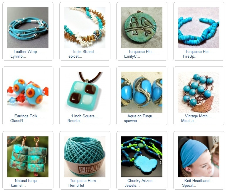 Alluring Turquoise Blue Collection