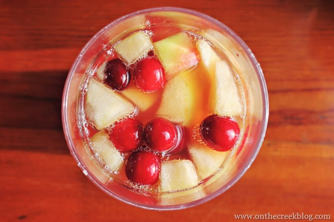 Caramel Apple Punch | On The Creek