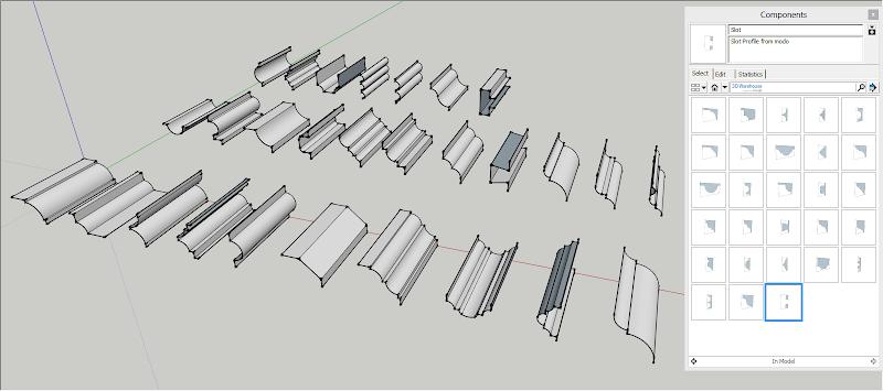 SketchUp - แจก SketchUp Profiles from modo ชุดที่ 1 Modo_profile_vol1