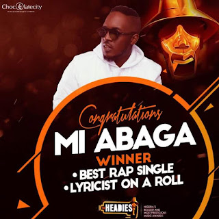 M I, Headies Awards, best Rapper Nigeria
