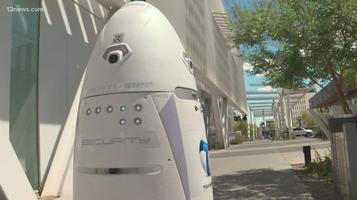 Park Central Mall in Phoenix gets a robot security guard