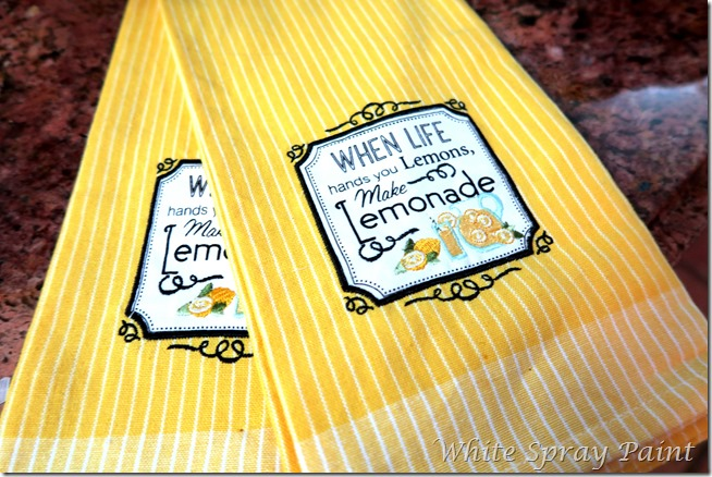 Spring in the Kitchen 2016 Dish Towels