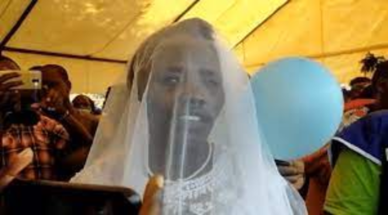Mother of 6 dumps husband of 20 years to marry the 'Holy Spirit,' goes to Uganda for honeymoon (photos)