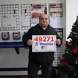 Premio de la Lotería de Navidad en Montijo