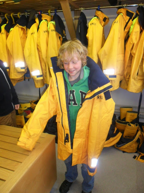 A future crew member perhaps?! May 2013