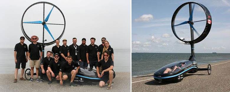 ANSYS | Новый мировой рекорд автомобиля с ветродвигателем Chinook ETS, достигнутый с помощью ANSYS