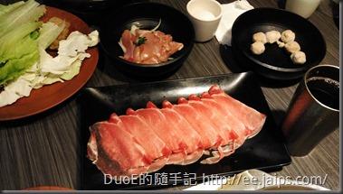 鼎盛十里鍋物-梅花豬與雞柳條