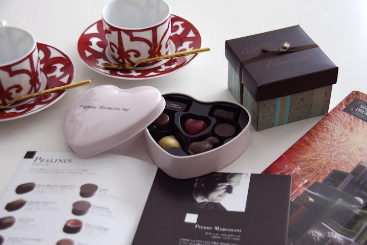 「ピエールマルコリーニ」のバレンタインセレクション