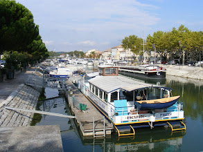 Photo: Saturday is devoted to two towns on the Rhone, beginning here in Beaucaire.